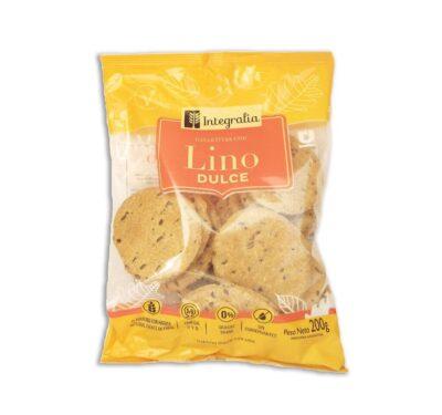 """Crackers """"Integralia"""" -Con Lino. Dulce"""