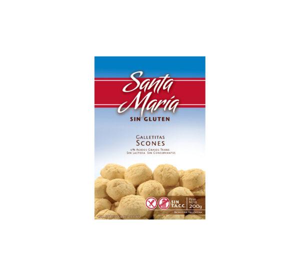 Santa Maria Sin Gluten Scons