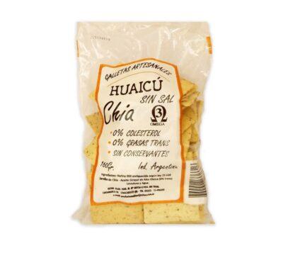 "Galletitas artesanales ""Huaicú"" -Chia. Sin Sal"