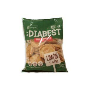 "Galletitas Diabest ""Integralia"" - Limón y Avena"