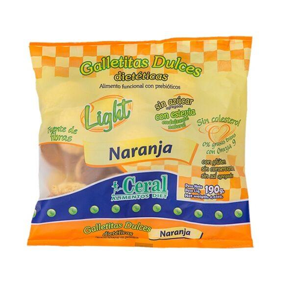 "Galletitas Light ""Ceral"" – Naranja"