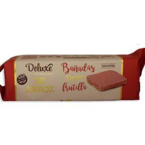 """Galletas de Arroz """"Deluxe Bla Bla"""" - Con Baño de Frutilla"""