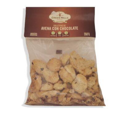 "Galletitas ""Green Mills""- Avena con Chocolate"