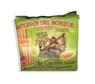 """Tostadas de Arroz """"Molinos del Bosque - Sabor Vainilla"""