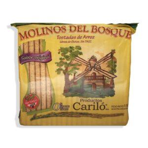 """Tostadas de Arroz """"Molinos del Bosque"""" - Sabor Original"""
