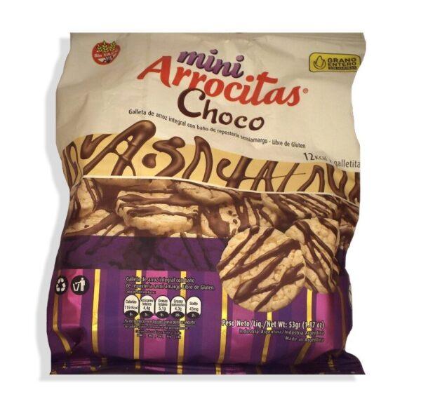 """Mini Arrocitas """"Cerealko"""" - Bañadas en Chocolate Semiamargo"""