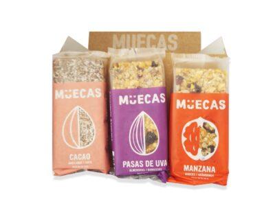 """Barritas de Cereal """"Muecas"""""""
