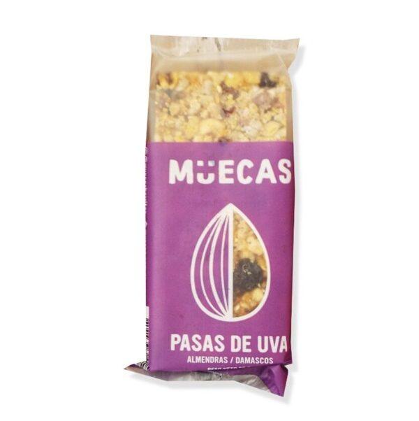 """Barritas de Cereal """"Muecas"""" – de Pasas, Almendras y Damascos"""