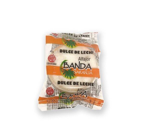 "Alfajor De Dulce De Leche ""Banda Naranja"""