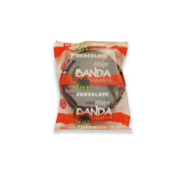 "Alfajor De Chocolate ""Banda Naranja"""