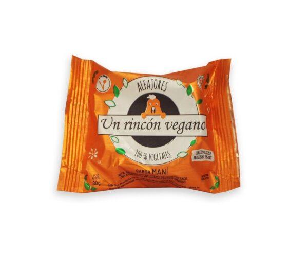 """Alfajor """"Un Rincón Vegano""""- sabor Maní"""