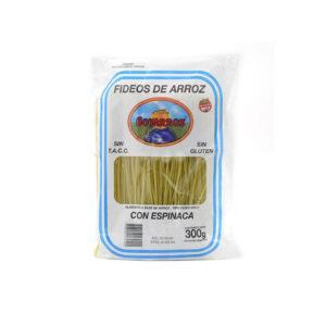 Fideos De Arroz Con Espinaca Soyarroz