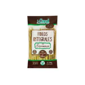 Fideos Integrales Con Espinaca