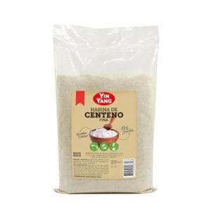 Harina De Centeno Integral Fina Yin Yang Organico 1 Kilo