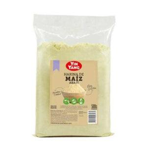 Harina De Maiz Abati Yin Yang De 500 Gramos