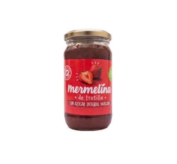 Mermelina de Frutilla con Azúcar Integral Mascabo