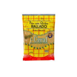 Pan Con Gluten Rallado Ceral 400 G